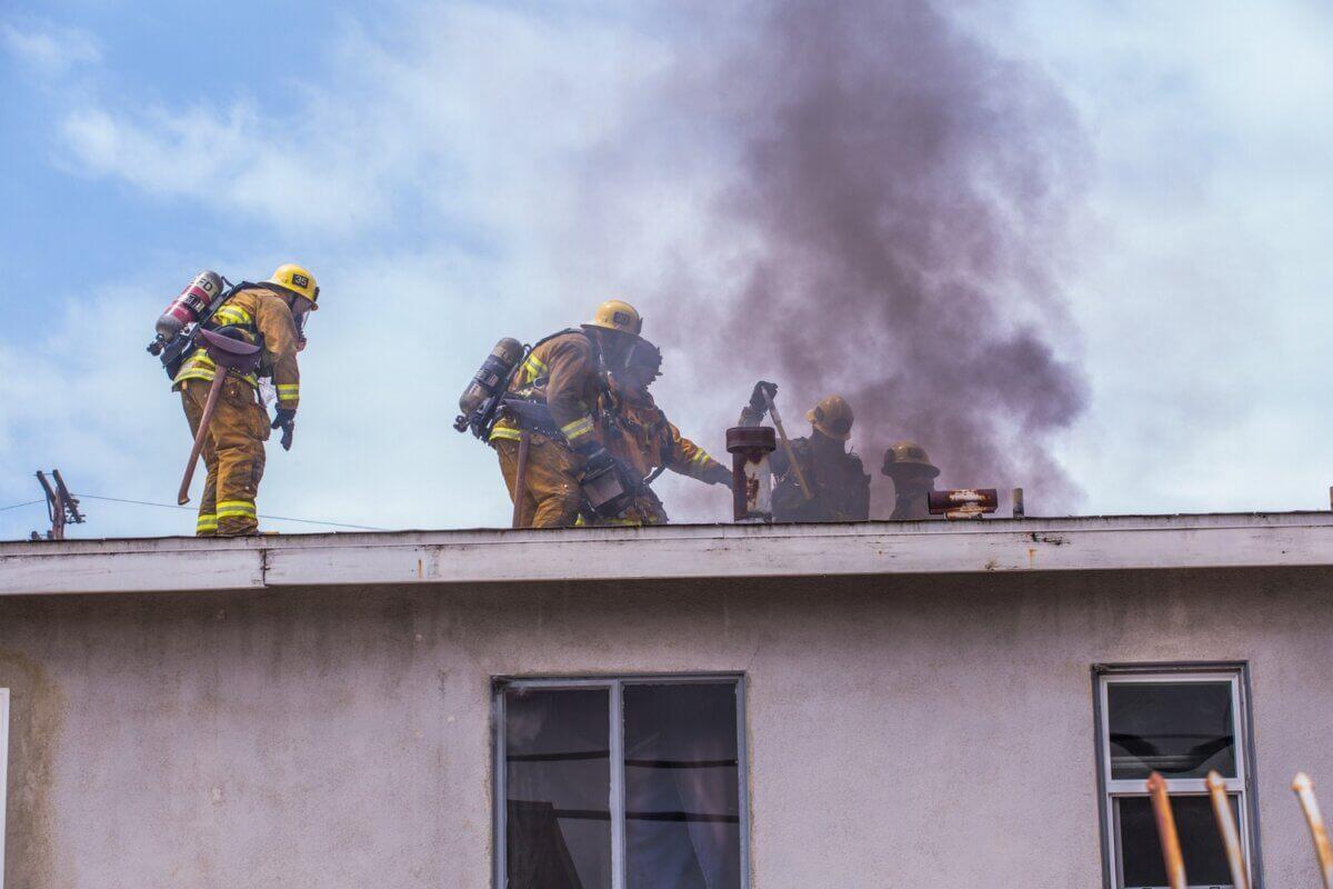 Po Porzaże Łódź - Osuszanie po pożarze - Wysusz Dom