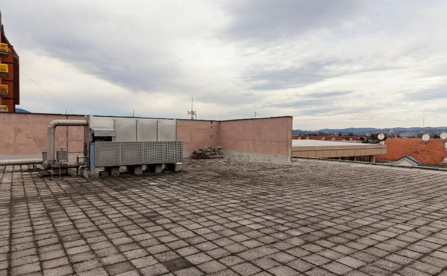 Zalane dachy, poddasza - osuszanie z Wysusz Dom Łódź i okolice