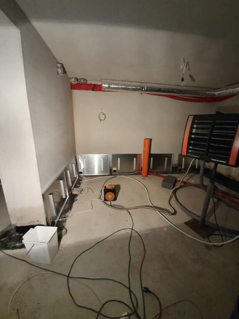 Osuszanie mieszkania w stanie deweloperskim Wysusz Dom