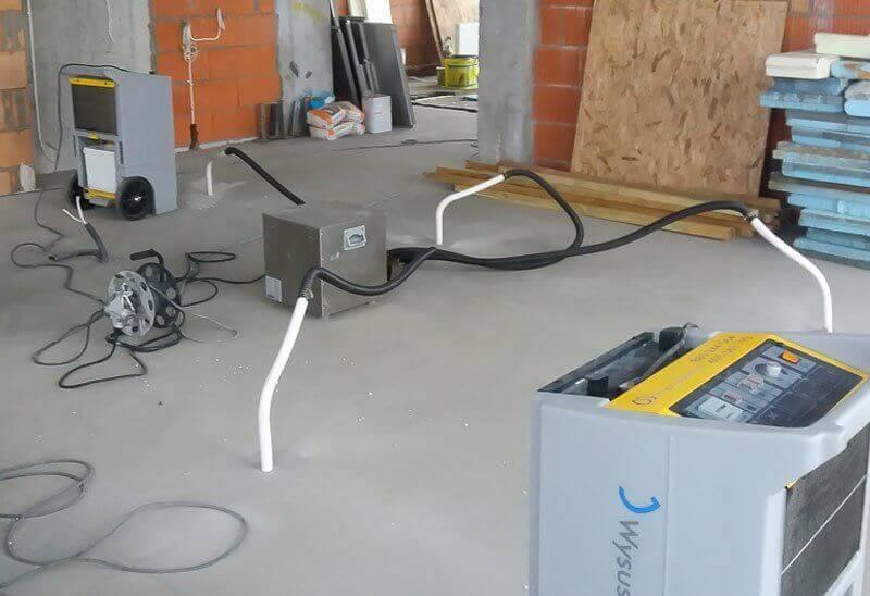 Firma Wysusz Dom - osuszanie garaży